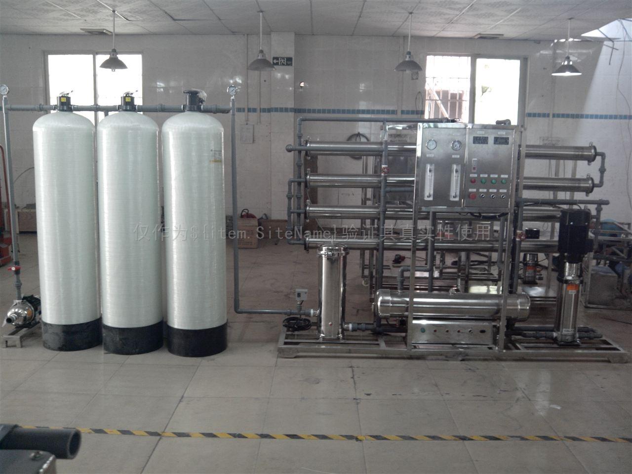 全自动纯净水设备的污染途径