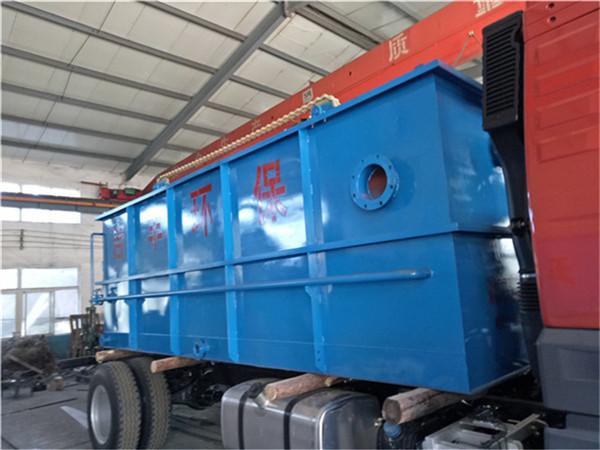 平流式溶气气浮机在污水行业的作用说明