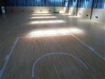 郴州篮球馆高级运动木地板价格