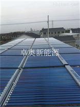 苏州浴场20吨太阳能空气能热水系统工程