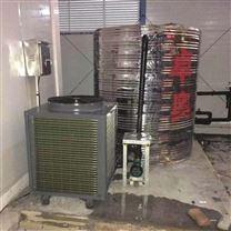 浙江嘉兴工地空气能2套热水系统工程