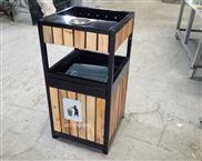 定制-钢木垃圾桶