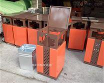 钢板垃圾桶
