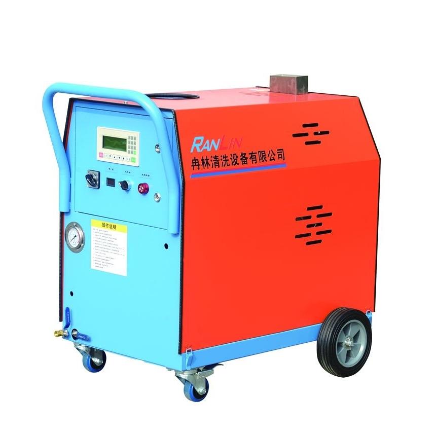 手推式柴油蒸汽清洗机