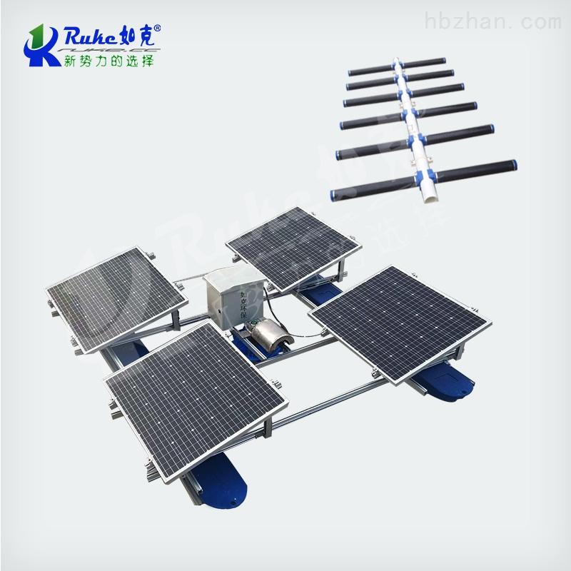 RSUN100-WPS太阳能微孔曝气机 河道池塘增氧设备