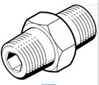 VL-5-1/2中文资料:FESTO螺纹接头ESK-1/4-1/4