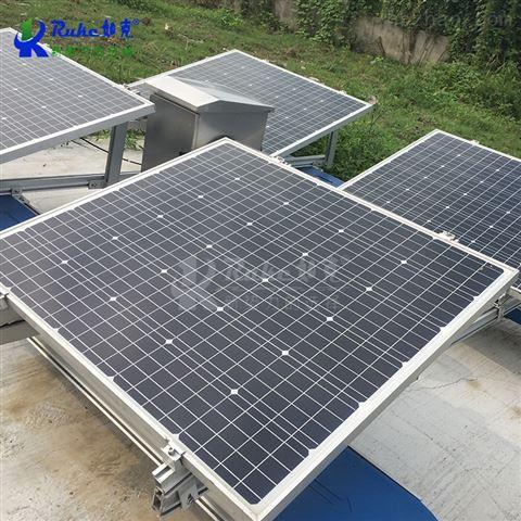 太阳能解层水循环复氧控藻机