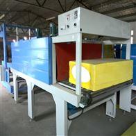 硅质聚苯板自动套膜二合一收缩膜包装机