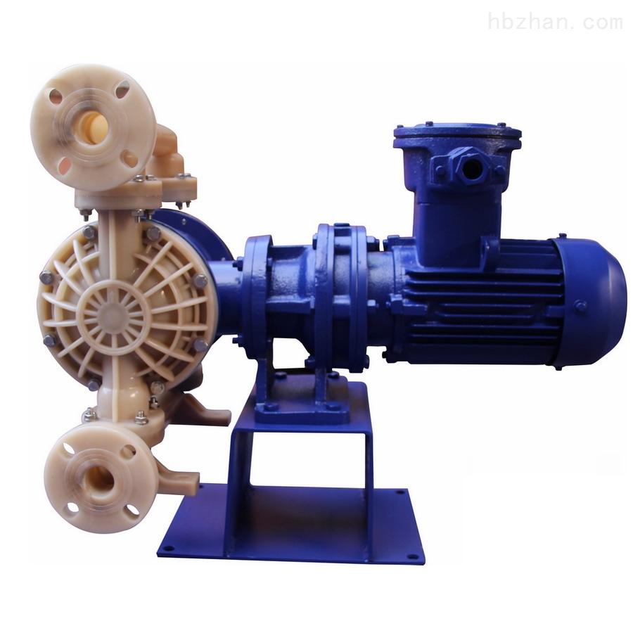 氟塑料電動隔膜泵