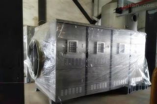 山东淄博市饲料厂废气处理设备