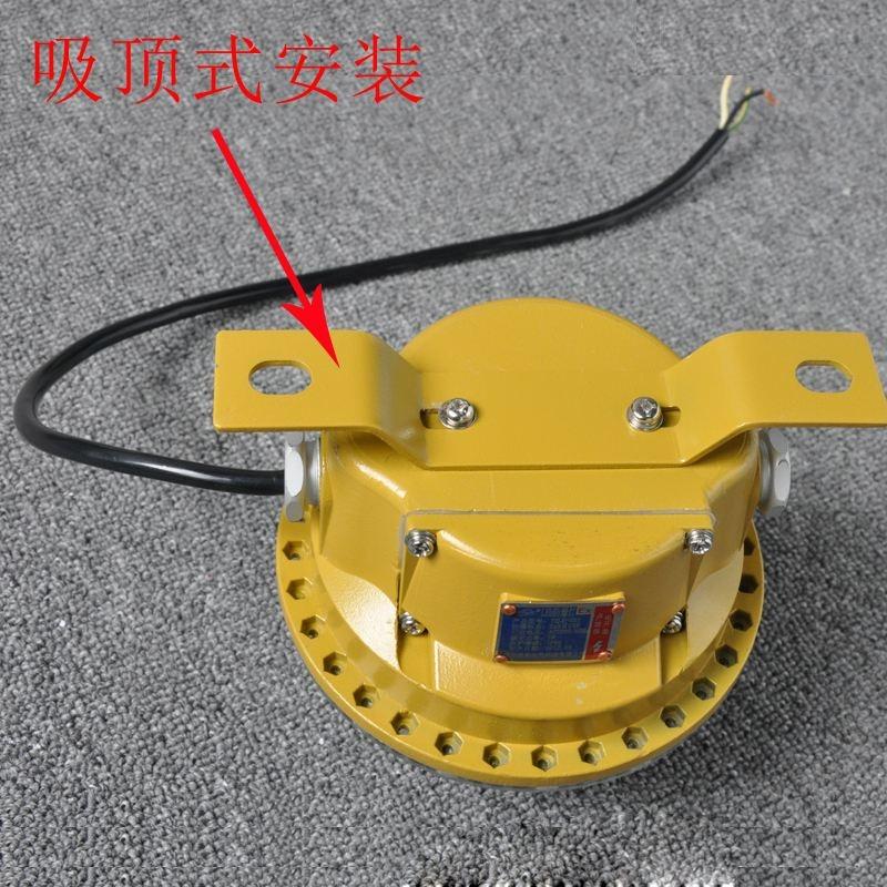 ZY5301-10W防爆圆形LED灯(吊杆式)