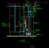 深井一体化玻璃钢污水提升泵站