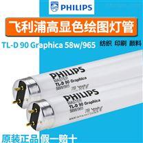 飞利浦D65对色58W965无影高显色标准灯管
