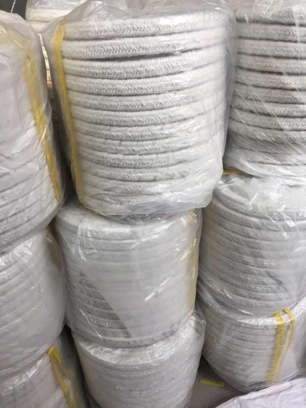炉门密封硅酸铝绳,陶瓷纤维绳价格多少