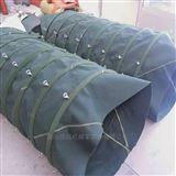 固定铁环式水泥帆布伸缩卸料布袋