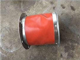 定制冶煉廠高溫硅鈦軟連接