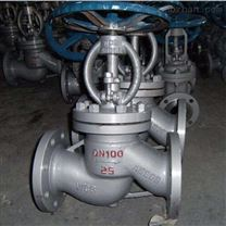 J41H鑄鋼法蘭截止閥