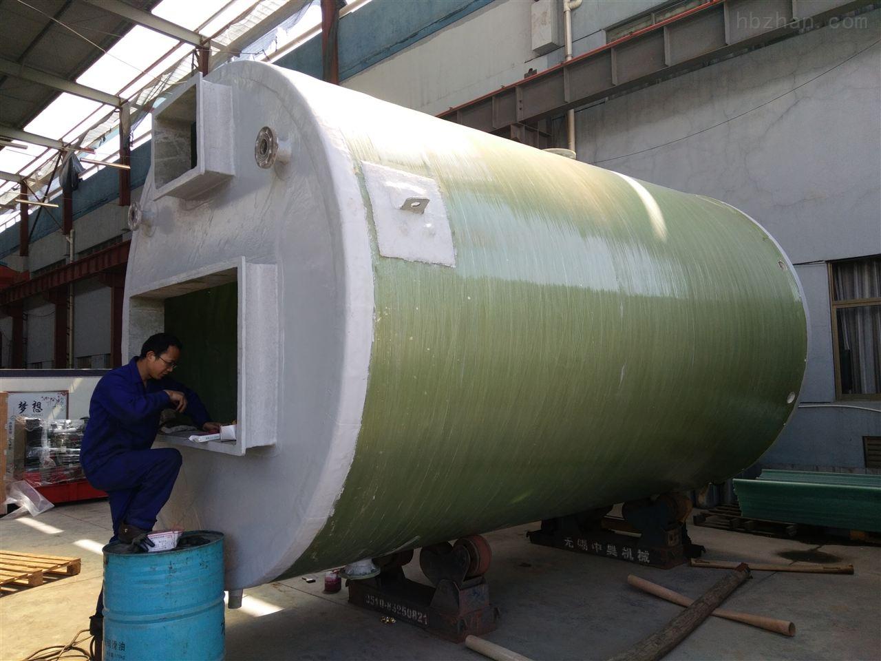 智能一體化汙水提升泵站