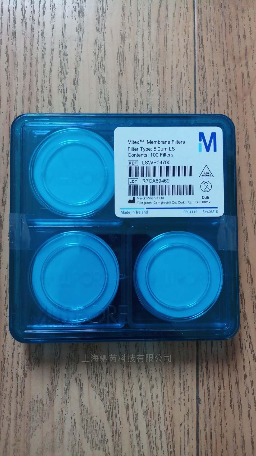 美国Merck Millipore密理博疏水性PTFE滤膜