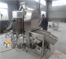 SPGT-600滚筒鸡米花上粉机 裹面粉机价格