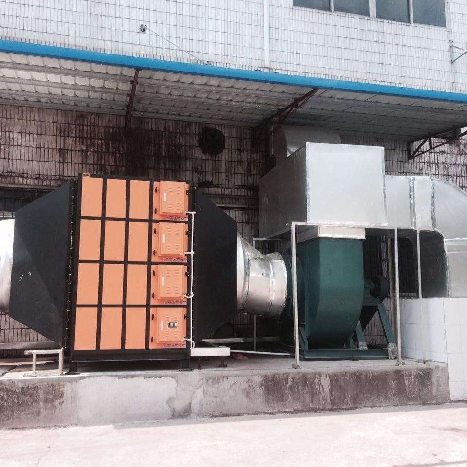 CNC加工中心静电式油雾净化器
