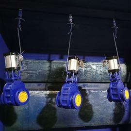 Z644TC -16C氣動陶瓷雙閘板閥