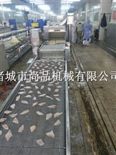 罗非鱼上浆裹糠机生产线 大型食品厂专用