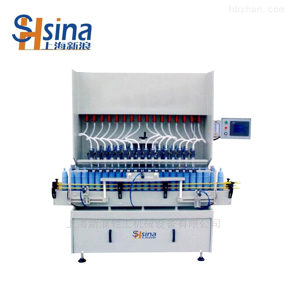 SXL-ZL型双排直线防腐灌装机