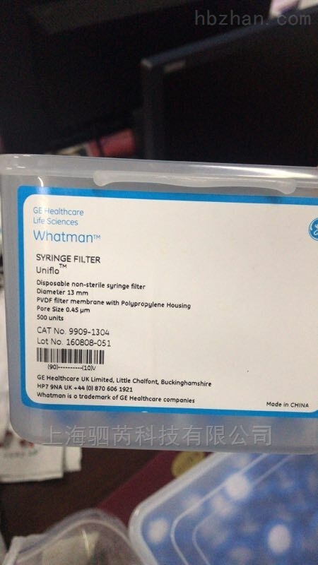 whatmanPVDF针头过滤器9909-1304