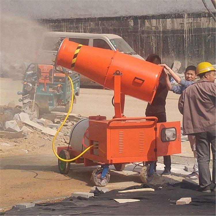 荆州雾炮机作业之后的保养工作