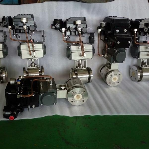 气动V型陶瓷调节球阀FBC-65