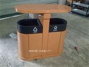 重庆景观垃圾桶-公园园林垃圾桶款式 钢板垃圾箱