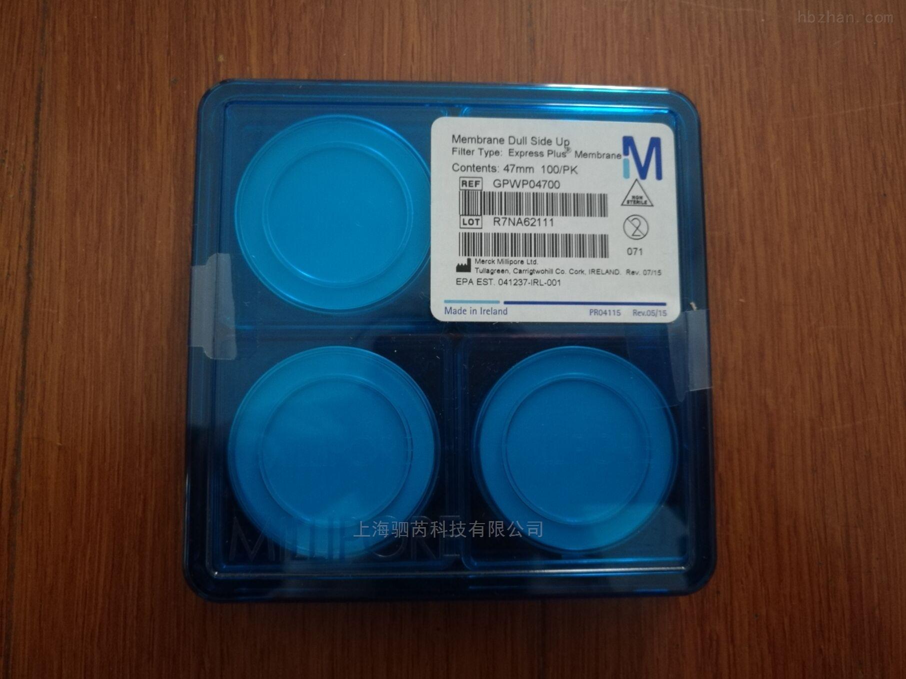 密理博孔径0.22um水系膜GPWP04700