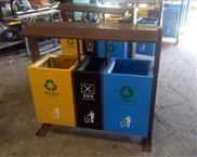 绵竹小区试点垃圾桶 多分类垃圾箱