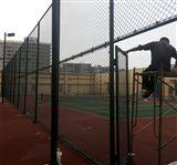 篮球场防护围栏A网球场PVC勾花围网
