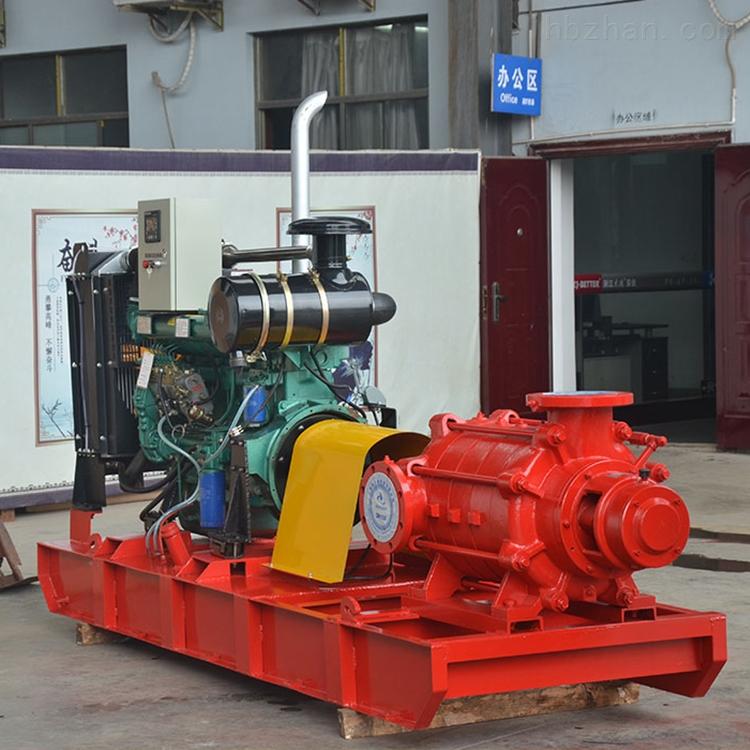 全自动卧式柴油机消防泵