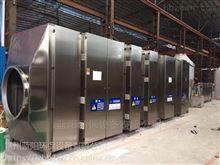 可定制塑料造粒厂车间废气处理方法