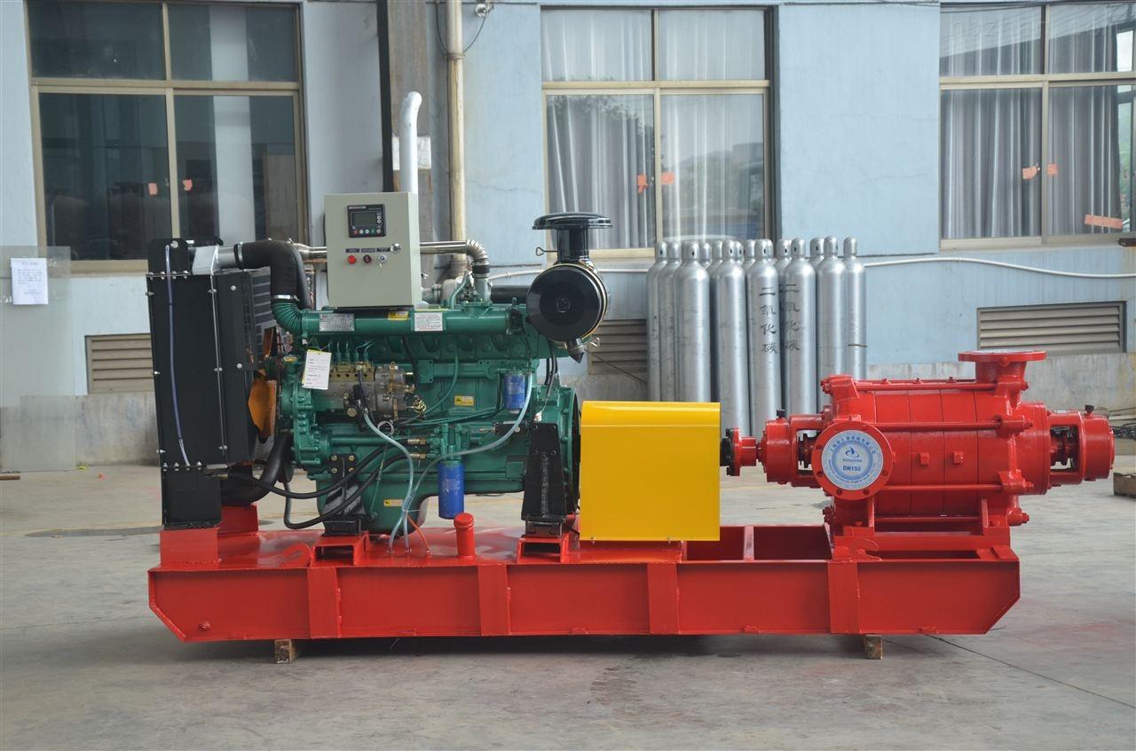 小型柴油机多级消防泵