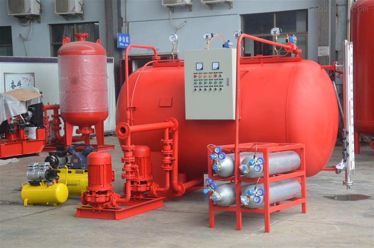 气体顶压给水设备优势