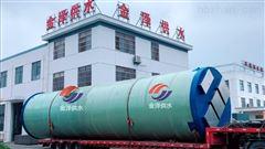 淄博一体化污水提升泵站1000立方