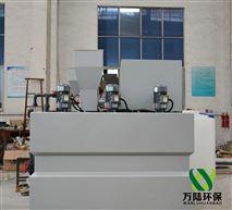江蘇三槽一體化不鏽鋼幹粉投加機