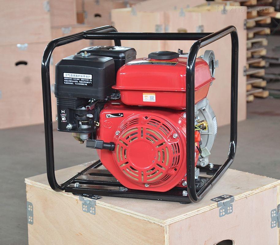 红色手抬式消防泵