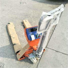 YCS-2T北京2吨带打印叉车秤,3吨可打小票地牛秤