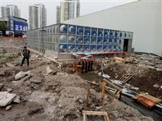 广西南宁600吨增强型地上消防增压供水泵房