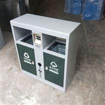 射洪县钢板垃圾桶 街道小区垃圾箱