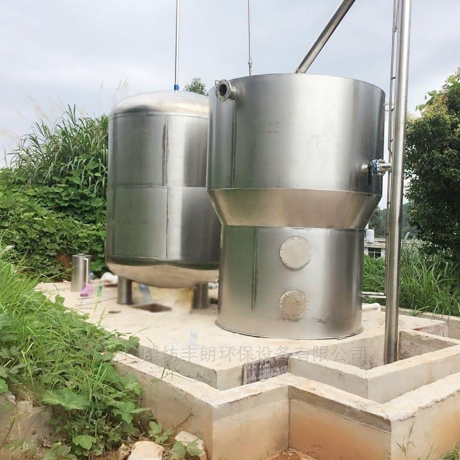 圆柱式无动力一体化净水设备厂家