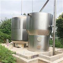 FL-JS-300不锈钢无动力高效一体化净水设备