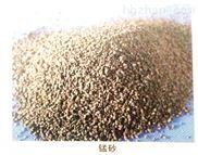 水處理行業錳砂濾料的工作原理