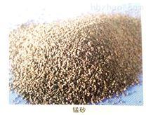 水处理行业锰砂滤料的工作原理