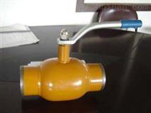 手柄縮徑全焊接球閥的作用